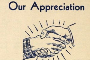 We Truly Appreciate